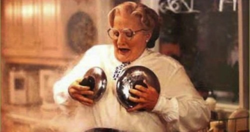 THROW BACK: 20 years ago  MRS. DoubtFIRE!!!!!!!!!!