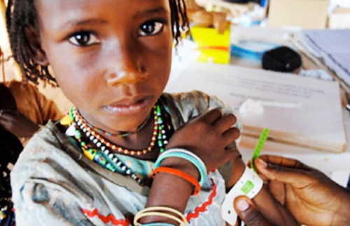 Malnutrition screening in Cameroon