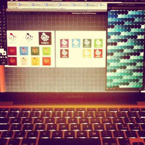 Too much colors on my desktop.. Not enough time. #city #branding #logo #design #polimi #colors #damn #brand