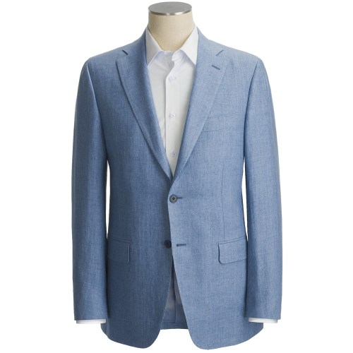 It's On Sale: Isaia at STP The discounter Sierra Trading Post is best known for their outdoor goods, but they've also got a few high-end surprises in their stock, like Isaia suits and sportcoats. I've noticed that they've gotten in about twenty models lately, which have been added to a pretty extensive stock. The sportcoats mostly retail for around $2500, and are marked half price at STP. Sign up for STP's Deal Flyer service, and you'll get regular coupons which should knock that down a further 25-35%. A great deal for one of Italy's finest ready-to-wear makers.