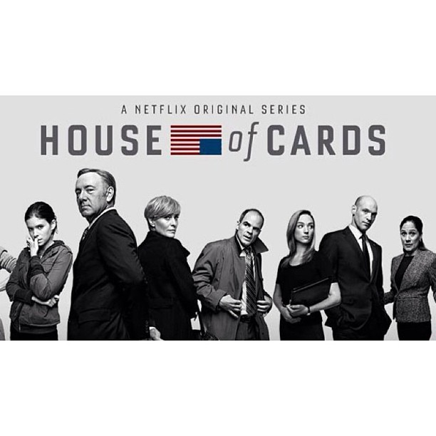 Na #BreakingBad & #Suits & #GameOfThrones is er nu ook #HouseOfCards 🎥