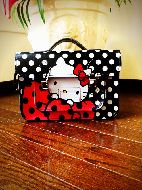 My Hello Kitty x Zatchels Bag Courtesy Of My El!!!