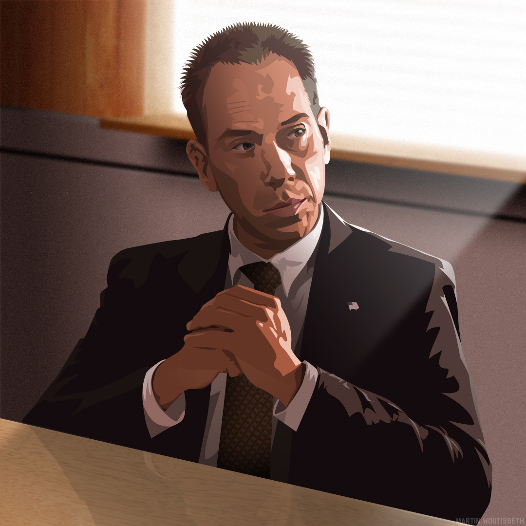 Twin peaks illustrated - Albert Rosenfield by Martin Woutisseth