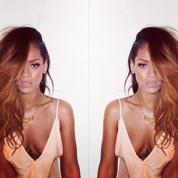 liqu0ricebitchhhh:  She's so hot @badgalriri #rihanna #riri #rihannanavy #navy