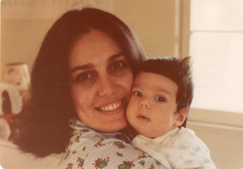 Me and my mom sometime in 1978. I chose this to start off my new tumblr. because now that I am a mother myself, I find myself trying to be like my mom a lot. Throughout my day I often think: WWMMD (what would my mom do). I'm not exactly sure what form this blog will take. It will probably be a combination of my daily inspirations from the different roles I play as a mother, college professor,  art and architecture historian, a Southern Californian, and a Jewish woman living in the 21st century.