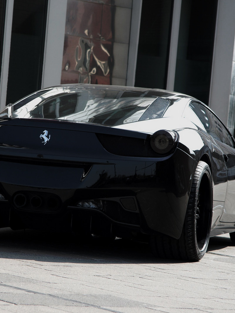 Blacked Out 458