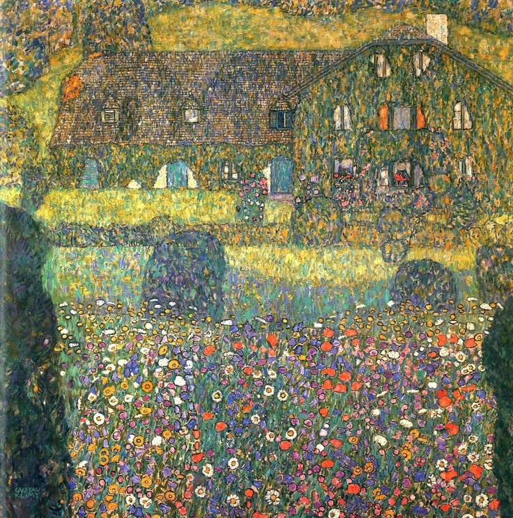 faithful-simplicity:  Gustav Klimt was an Austrian symbolist painter and one of the most prominent members of the Vienna Secession movement. Klimt is noted for his paintings, murals, sketches, and other art objects