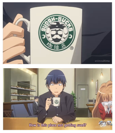 i-am-your-scars:  Those of you who've watched Toradora should remember this. Ngl, I cracked up:L
