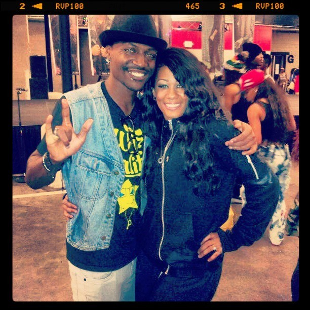 Me and the Beautiful Talented @heather_lb She's mad cool Go #Follow Her NOW IF UR NOT … see u soon sis!! 👋😁😚💕