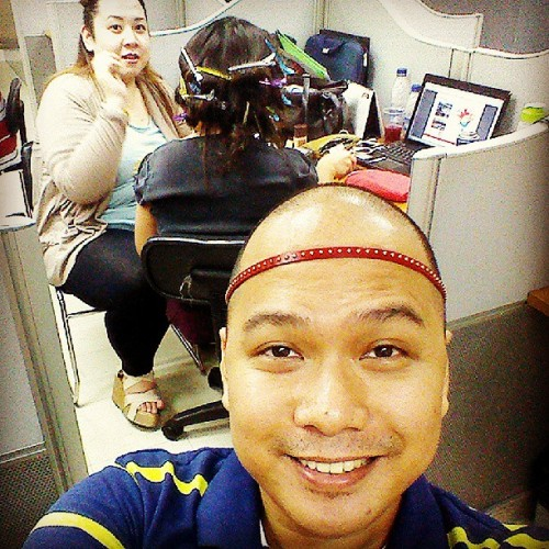 Salon day at the office! (at Hot Air Balloon Digital Group)