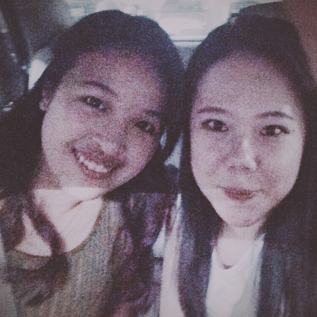 The kid whom I proudly call her my lil sis. 😍😍 Best date ever.   #throwback #bff #sisterlylove  (at Pavilion Parking)