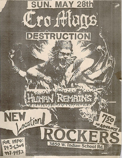 Cro-mags and more