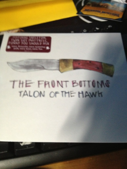 Just got my copy of Talon of the Hawk in the mail