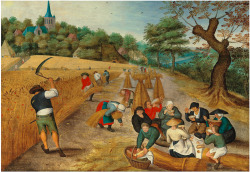 bible-garden:  The Harvesters (1623) Pieter Brueghel II (oil on panel) Peacemakers who sow in peace raise a harvest of righteousness. James 3:18 (NIV)