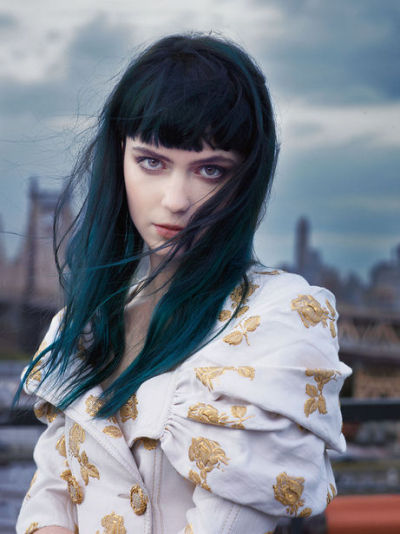 pholus:  Dying my hair like this next month!!!  i love the subtlety