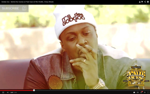 Watch SMOKE DZA behind the scenes at Paid Dues 2013. Cameos made by: Wiz Khalifa, Chevy Woods, and (possibly) YOU!