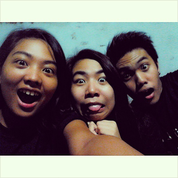 Shocking syaaaa! OK! #Crazy #eme #bestfriends