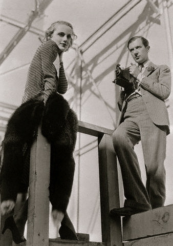 Carole Lombard and Cecil Beaton.