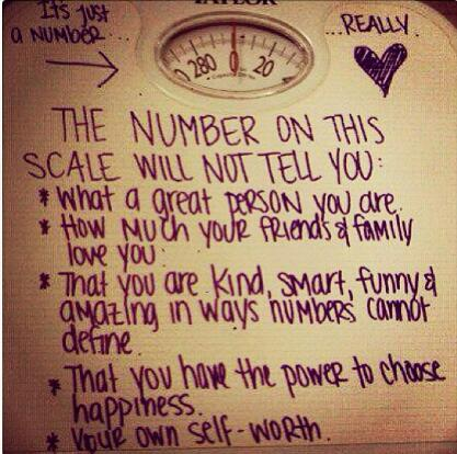 Ignore the Scale