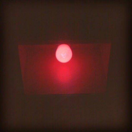 Red light in the dark room- #dentalassistant #darkroom #xrays #maxilofacial