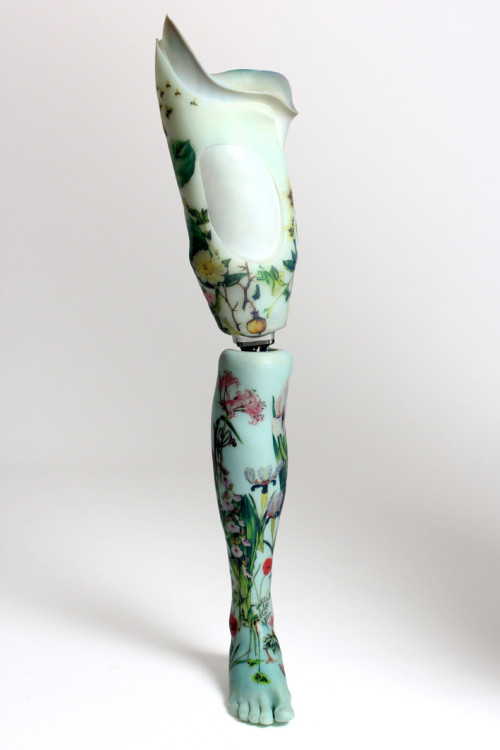 trankillement:  Floral leg by the Alternative Limb Project.