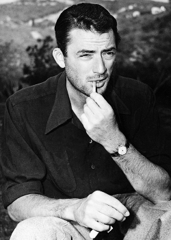msmildred:  Gregory Peck, c. 1948.