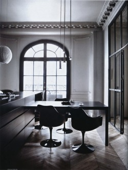 justthedesign:  Dining Room Apartment Photography By Sisters Agency For Elle Decor Italia