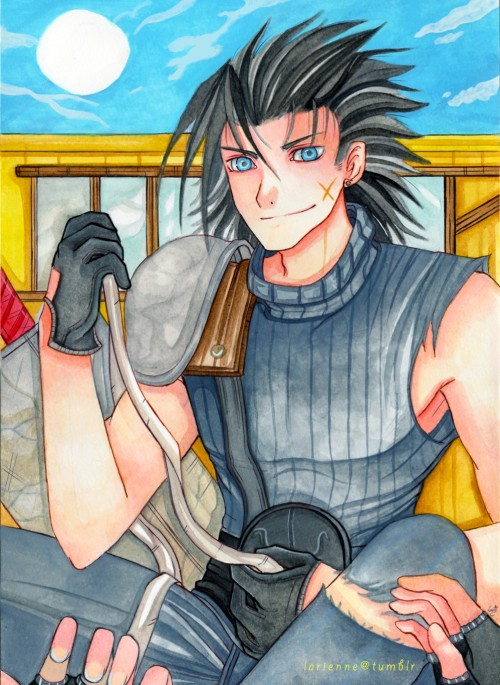 A speedpaint of Zack from fF7 ; u ; not sure if I will upload it on da or not > .>
