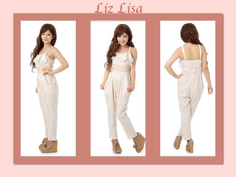 minniecouturexoxo:  Here's a cute outfit I found from Liz Lisa~ All In One Jumper! Goodnight~~♡  I would never wear this but its cute none the less!