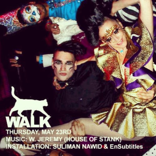 #catwalk #thursdays #nyc #downtown #club #marquee #susannebartsch @bartschland #house #arthaus #dance #pussy