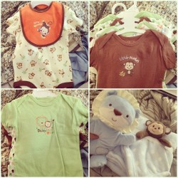 Got Brayden more stuff. :D Can you tell what his nursery theme is? :p #pregnant #pregnancy