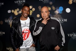 Belvedere Hosts Cannes Bash Courtesy Photo DJ Ruckus and Rev. Run