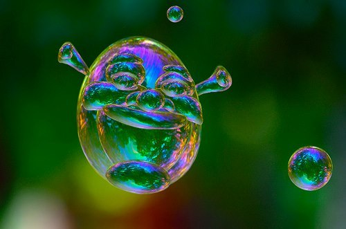 littleshrekthings:  blowing bubbles for your layer