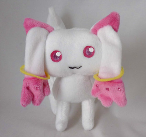 Kyubey Plush sold by BleedingHeartsCrafts $30