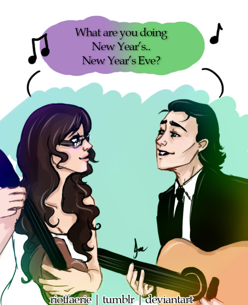 Loki x Darcy - 'What Are You Doing New Year's Eve' Parody of: http://www.youtube.com/watch?v=aSq1cez_flQ