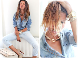 ph1lm:  (via Total denim dedicated! Тотал дениму посвящается! - Galant-Girl Ellena | LOOKBOOK.nu)