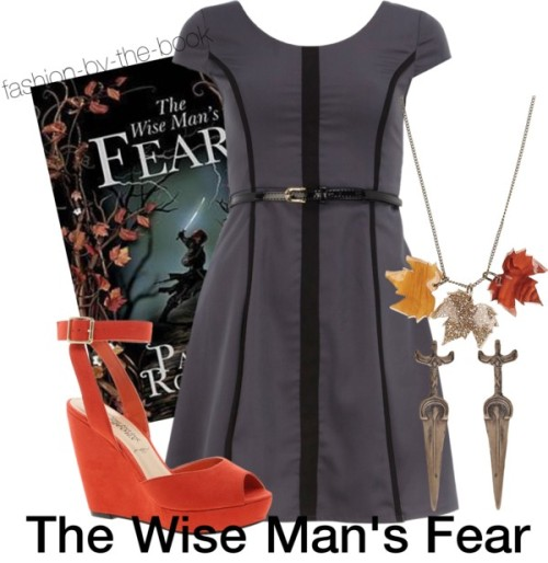 "fashion-by-the-book:  The Wise Man's Fear by Patrick Rothfuss Find it here ""There are three things all wise men fear: the sea in storm, a night with no moon, and the anger of a gentle man."""
