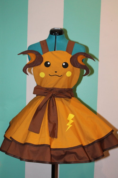 Raichu -Pokemon- Gijinka Cosplay Pinafore Commission By Darling Army