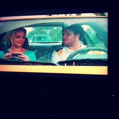 Watching knocked up