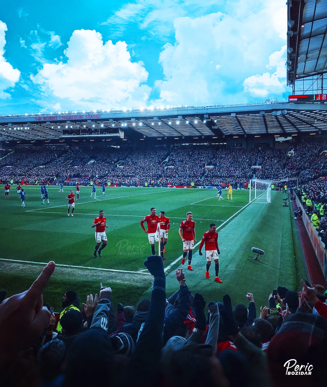Mufc Hq Edits Old Trafford X Manchester United X Sky Photo Edit