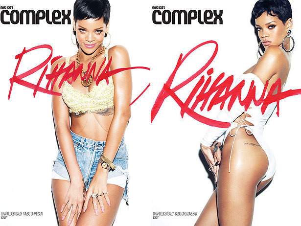 Rihanna's not happy with just one Complex magazine cover, she needs SEVEN.