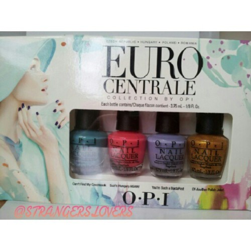 Euro Centrale minis!! ^^ #nailaddicts #nailpolish #polishaddict #polish #opi