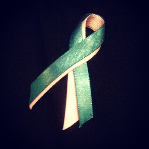 My ribbon:)
