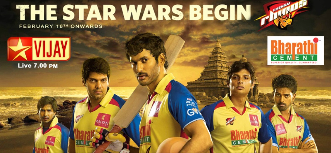 tamil-ponnu:  Chennai rhino!!! Lets support our Tamil heroes!! #CCL