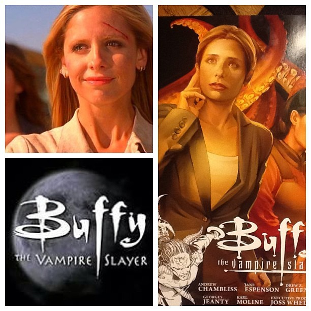barkingfawn:  10 years since last Buffy episode, made me realize there was a new graphic novel out. At least the show lives on. #buffy #btvs #buffythevampireslayer