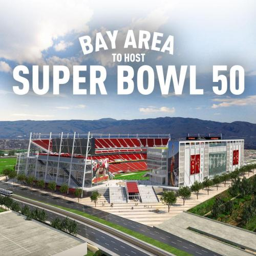 cbssports:  San Francisco lands Super Bowl L in 2016 over Miami.