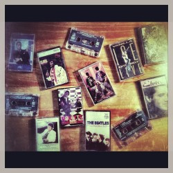 Tapes etc AKA #thingsfoundspringcleaning (at Milano 2)