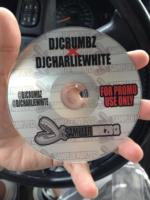 "djcharliewhite:  Limited Edition ""Trap Sampler"" available tonight at my show at Minglewood Hall in Memphis."