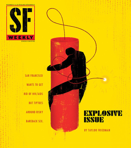 SF Weekly, November 9, 2011Art director: Andrew J. NilsenIllustration: Edel Rodriguez