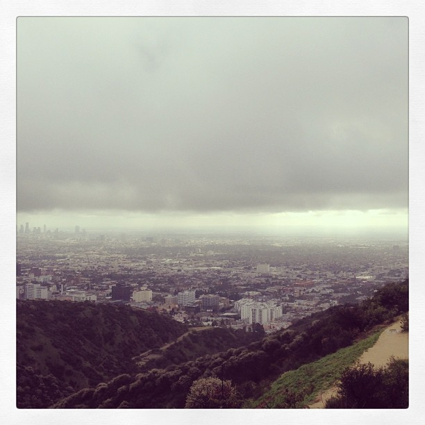 #hiking @runyoncanyon #top #la #magic